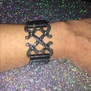 ❤️GUESS?❤️ Black Leather Bracelet